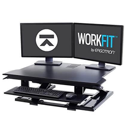 Egotron WorkFit-TX Standing Desk Converter