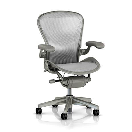 Herman Miller Aeron Task Chair with Carpet Casters