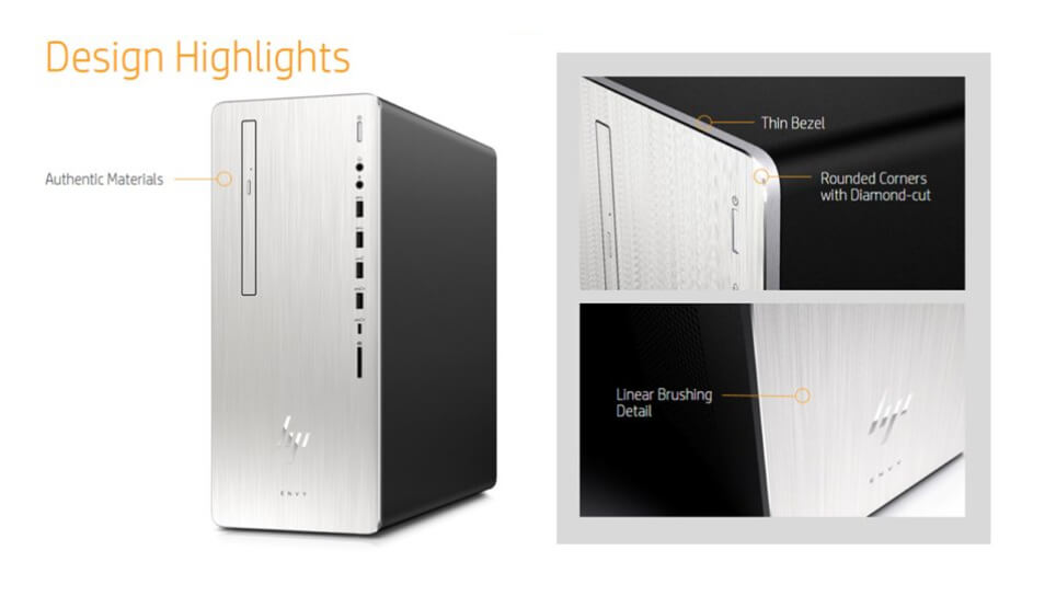 HP Envy Desktop Design