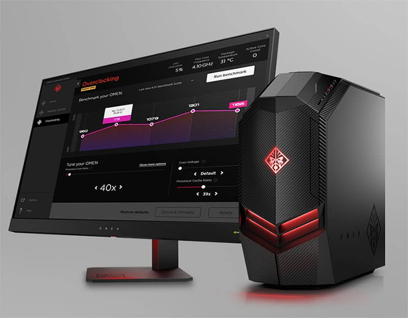 HP Omen Desktop Design
