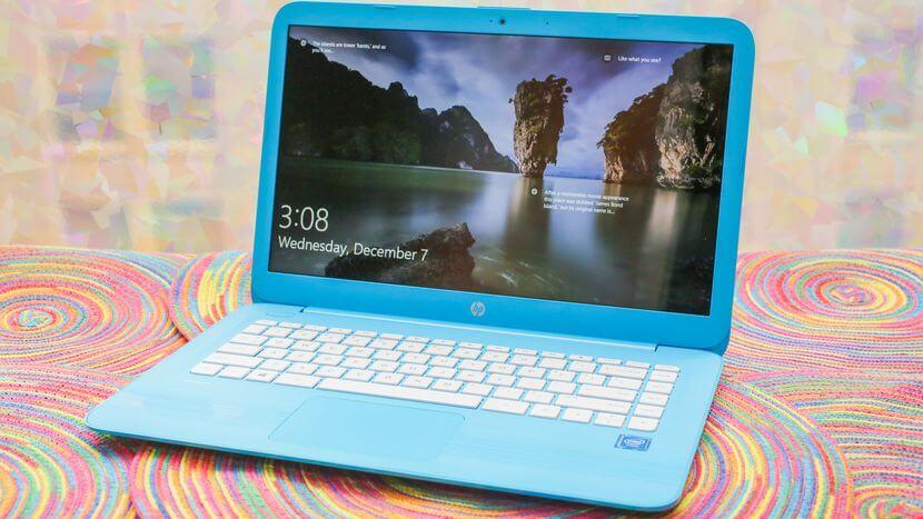 HP stream 14 Inch laptop Design