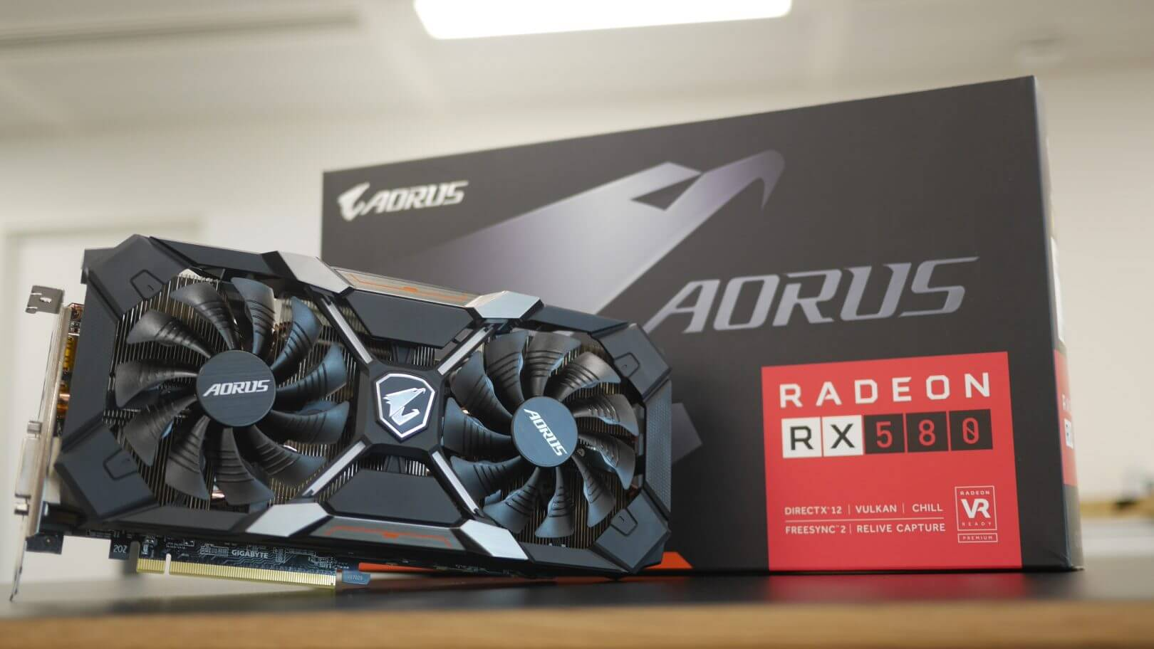 AMD Radeon RX 580 8GB Design