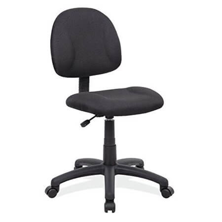 Boss Office Products B315-BK Delux Chair