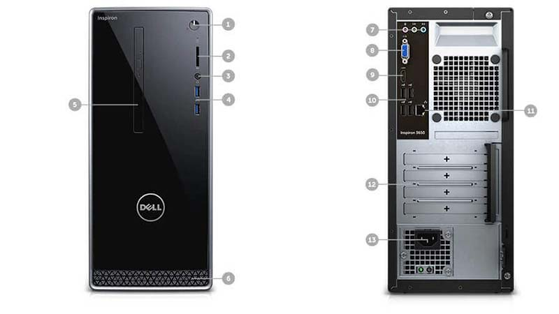 Dell Inspiron 3650 Desktop Review 1
