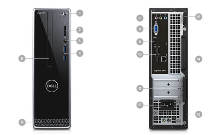 Dell Inspiron Small Desktop Multimedia hub