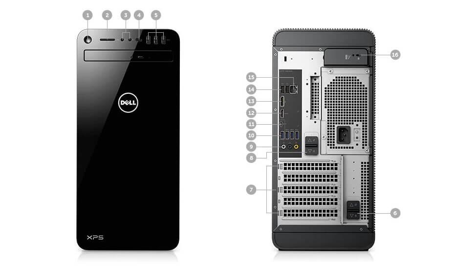 Dell XPS desktop port