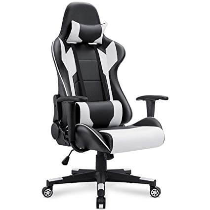 Homall Gaming Chair Racing Style High Back PU Leather Chair
