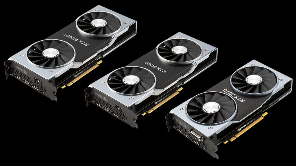 Nvidia geforce rtx 2070 design