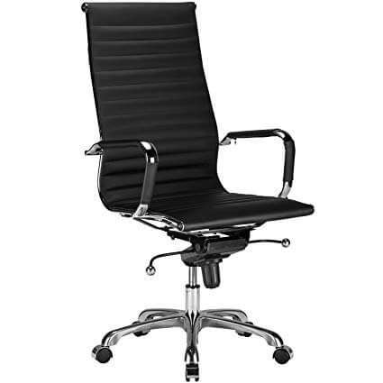 Poly and Bark EM-182-BLK Office Chair Black