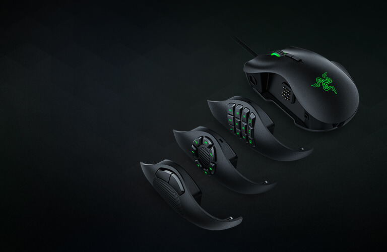 Razer Naga Trinity - Using the mouse
