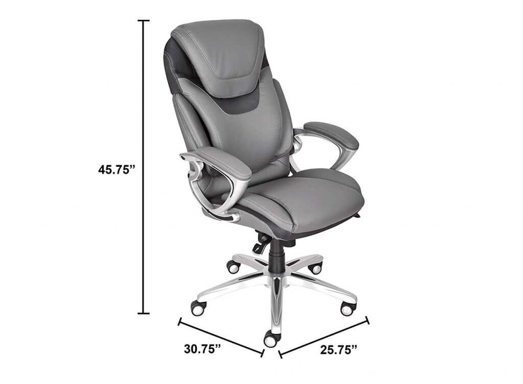 Serta 43807 Air Health and Wellness Executive Office Chair