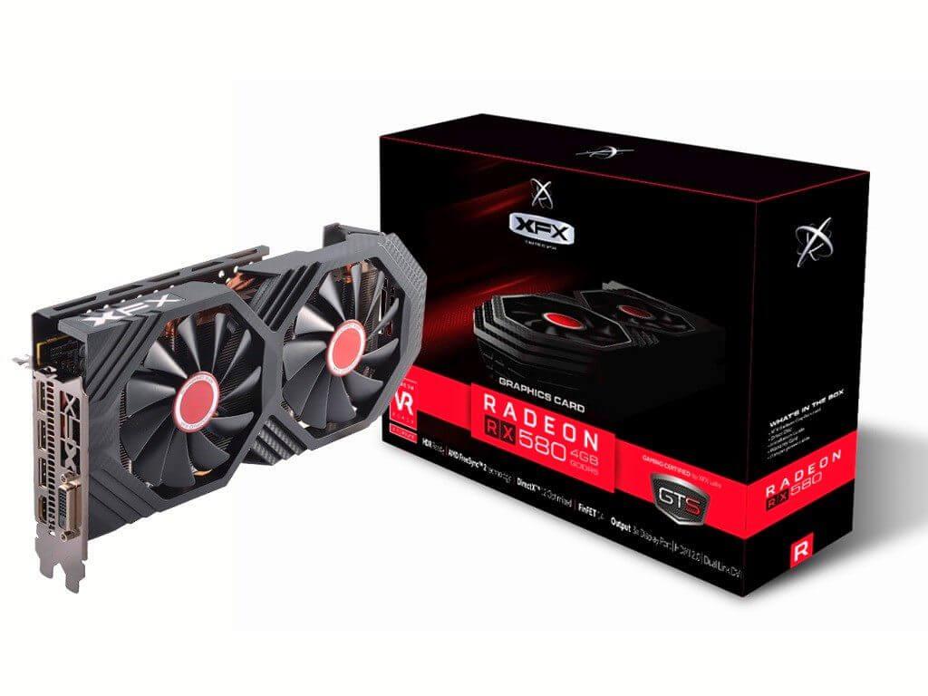 XFX Radeon RX 580 GTS XXX Edition Performance