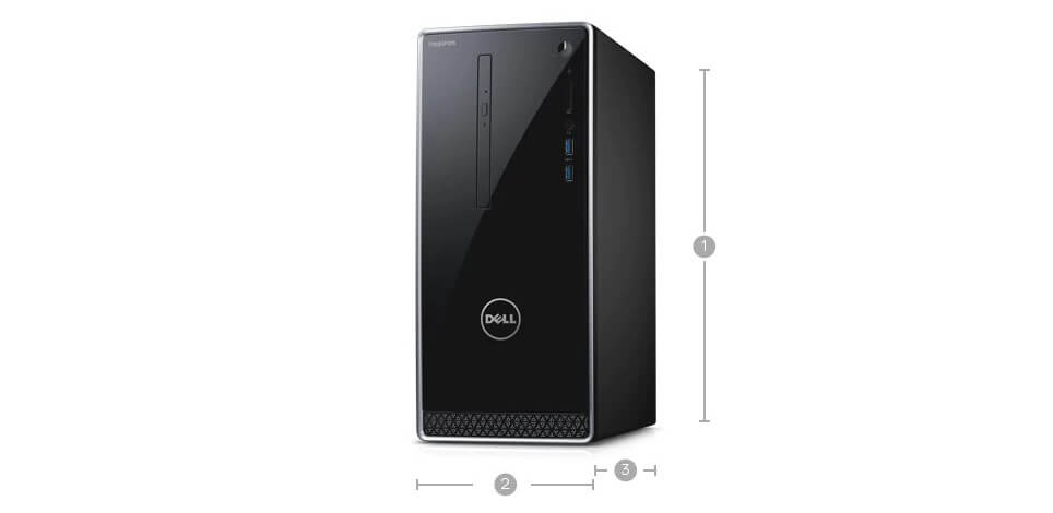 dell inspiron 3650 desktop Specifications