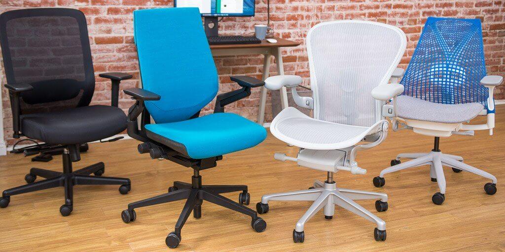 haworth very task chair Optional Forward Tilt
