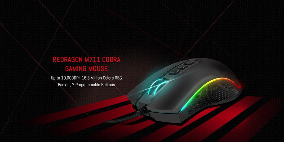 redragon m711 cobra introduction