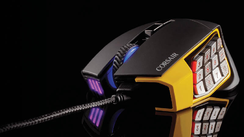 Corsair Scimitar Pro Review – Best Mouse For MOBA