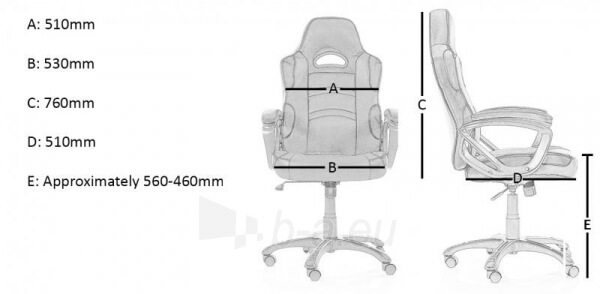 arozzi milano gaming chair Customization options