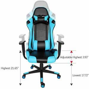 arozzi vernazza gaming chair The chair's posture benefits