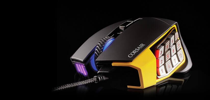 corsair scimitar pro Build and design