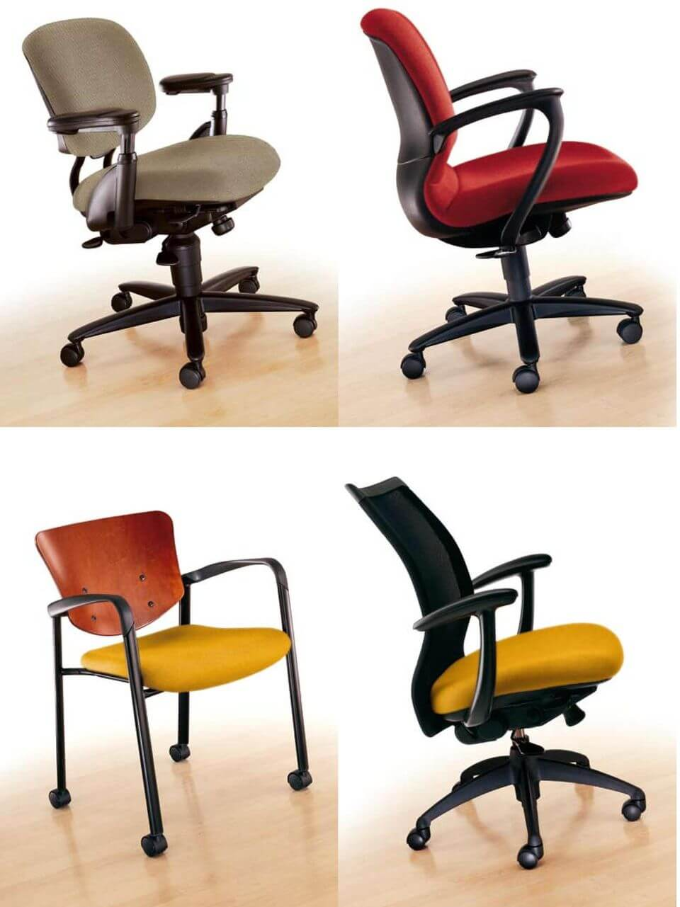 haworth improv chair Care and Maintenance