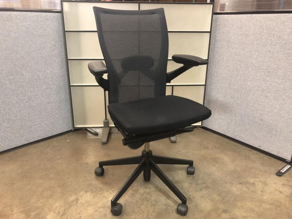 haworth x99 task chair Offers Seat Comfort