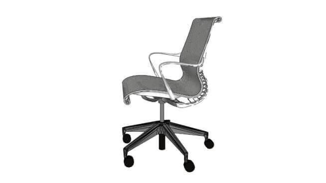 herman miller setu chair Material