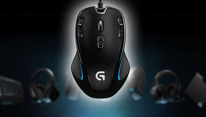 logitech g300s Software