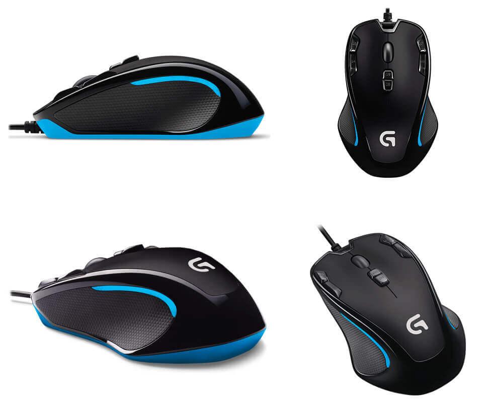 logitech g300s design