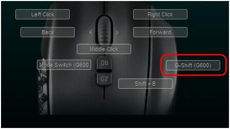 logitech g600 buttons