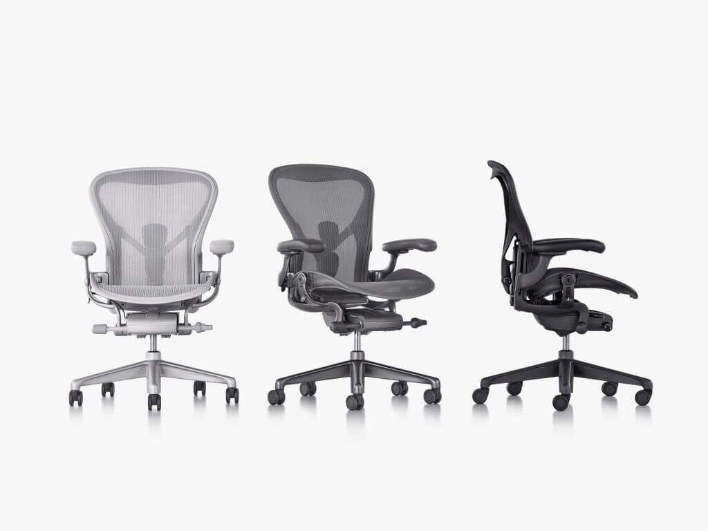 mirra 2 chair Redesigned Seat
