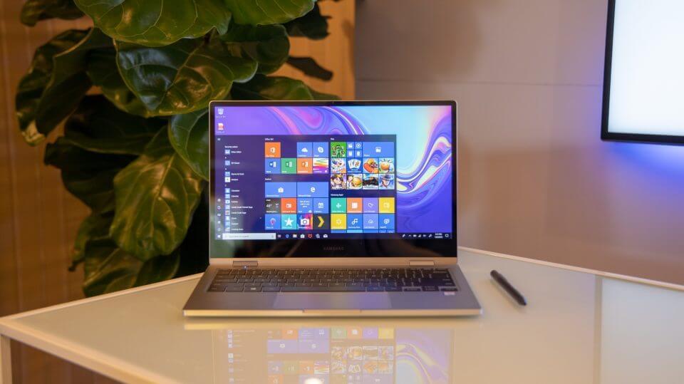 samsung notebook 9 pro design