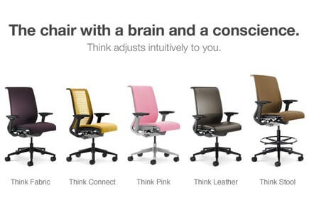 steelcase think chair price