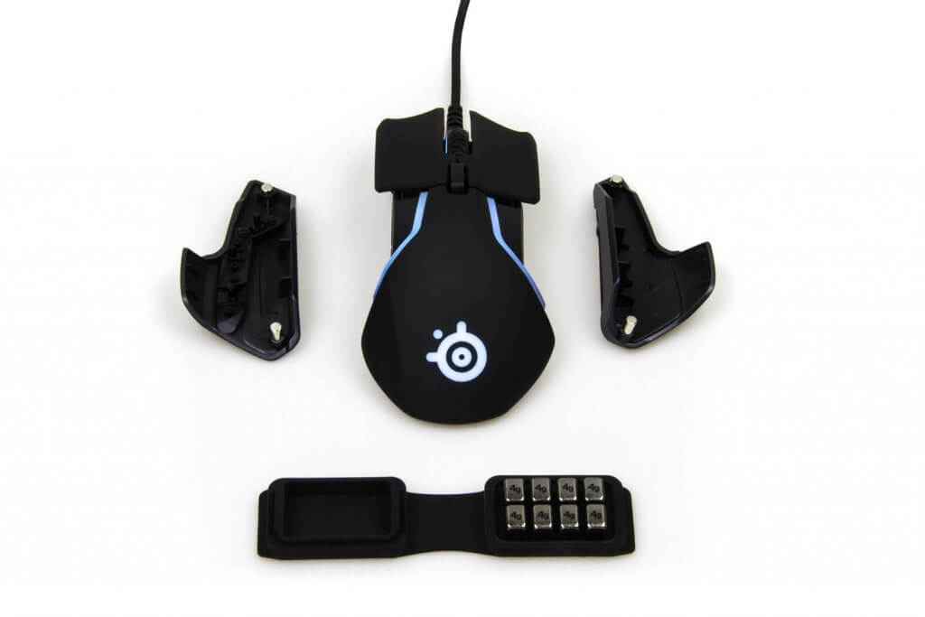 steelseries rival 600 Buttons