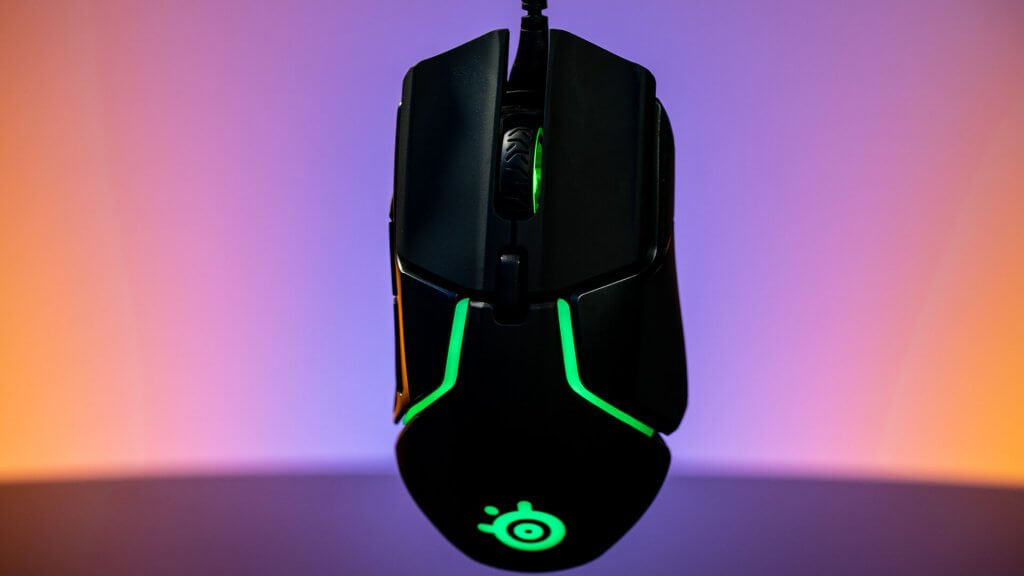 steelseries rival 600 design