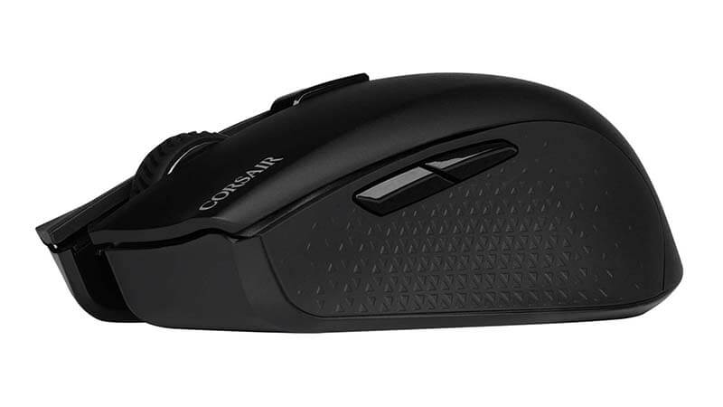 Corsair Harpoon RGB Wireless The battery