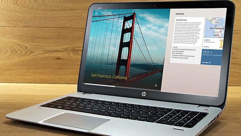 HP 15.6 TOUCHSCREEN bottom line