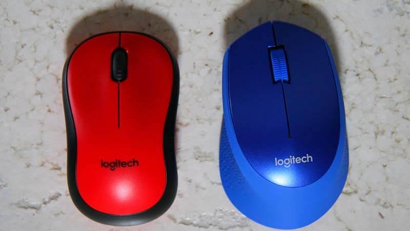 Logitech M330 button