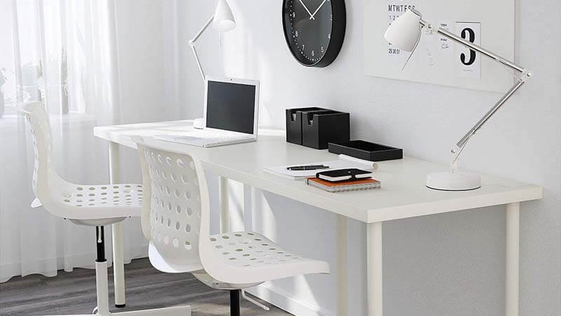 IKEA Linnmon Desk Bottom Line