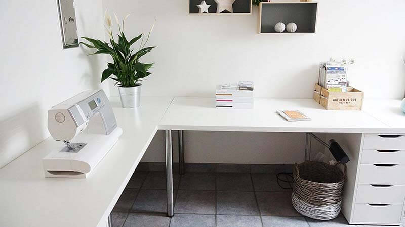 IKEA Linnmon Desk Design