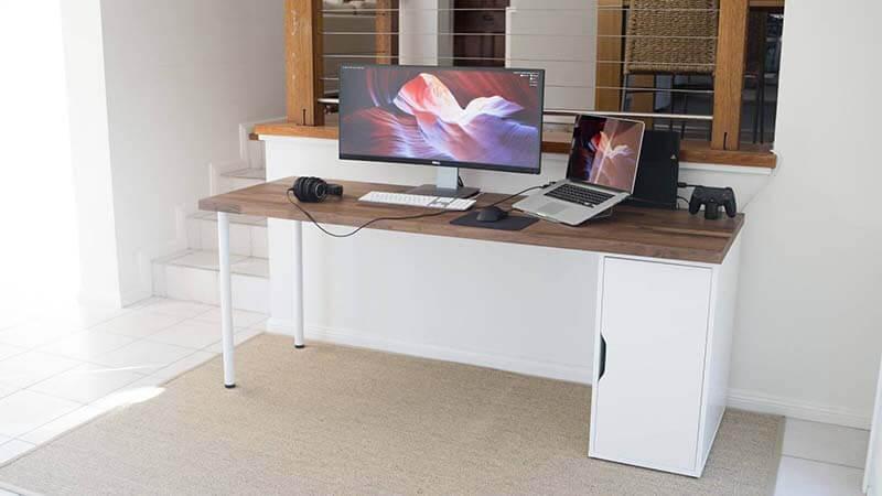 Ikea Karlby Desk Bottom Line