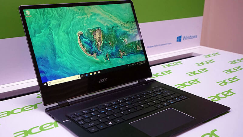 acer swift 7 review Design