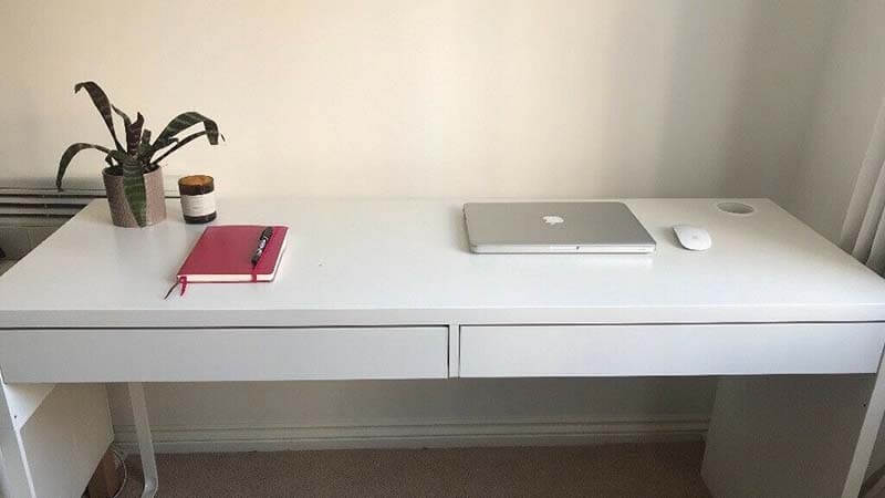 ikea micke desk review Very affordable