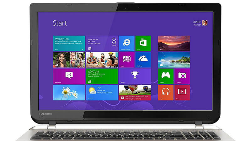 toshiba satellite S55 introduction