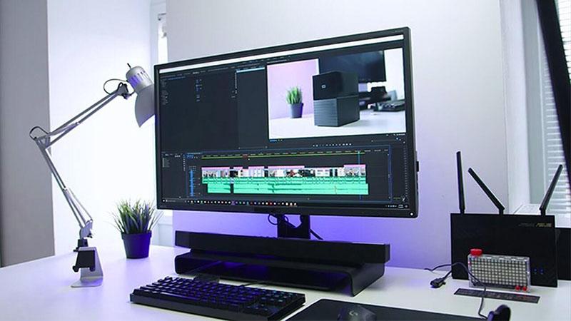 benq pd3200u Design